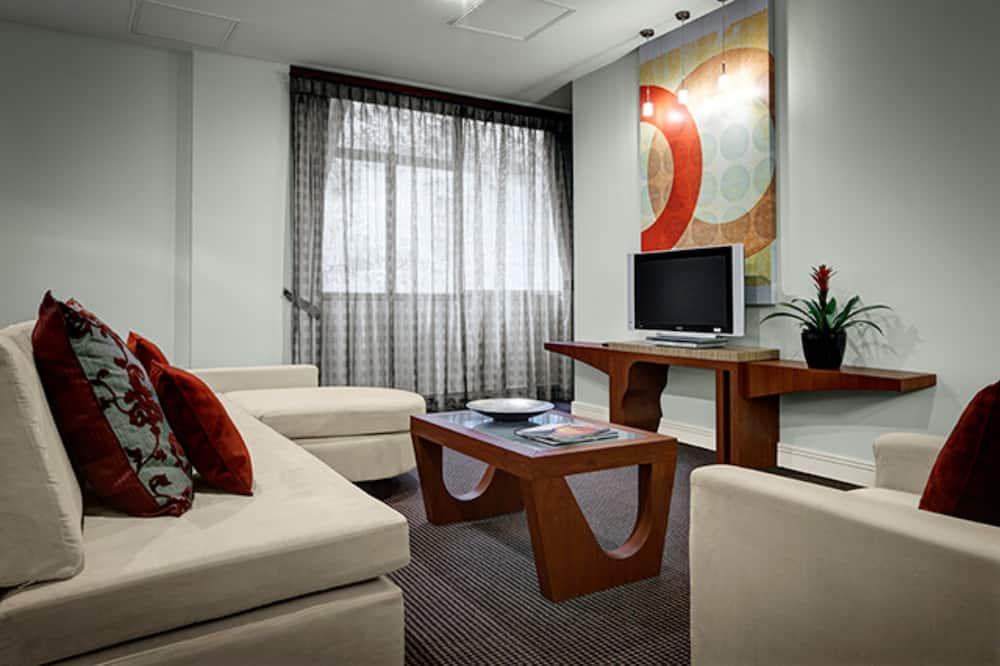 Apartmán typu Executive, 1 veľké dvojlôžko (Flex Rate) - Obývačka