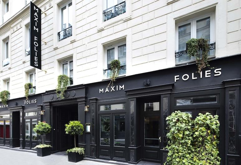 Maxim Folies, Paris, Hotelfassade