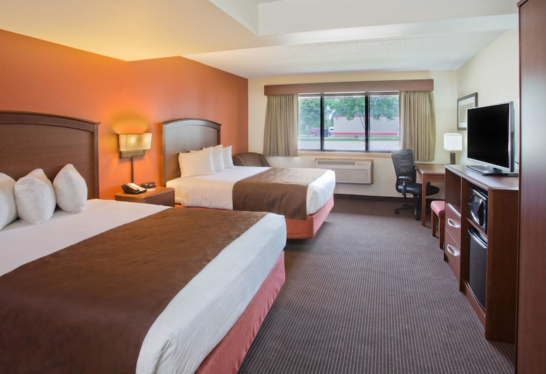 AmericInn by Wyndham Grand Forks, Grand Forks, Room, 2 Queen Beds, Accessible, Non Smoking (Mobility), Guest Room