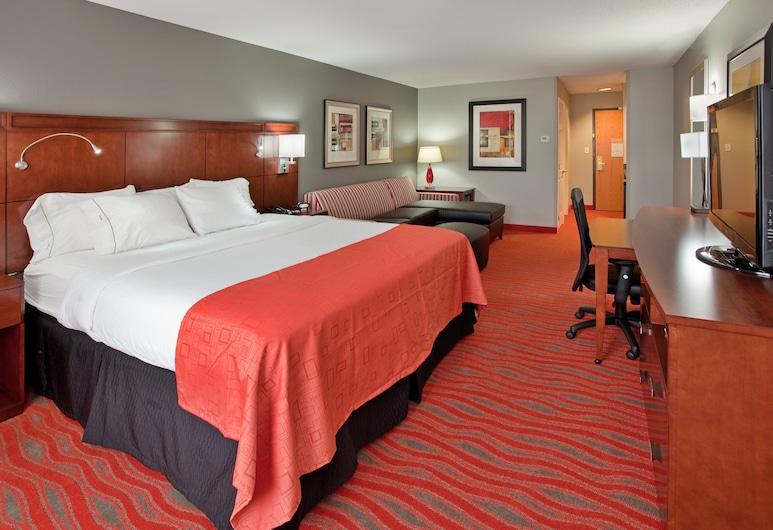 Holiday Inn Express and Suites Kearney, Kearney, Habitación, 1 cama King size con sofá cama, para no fumadores, Habitación