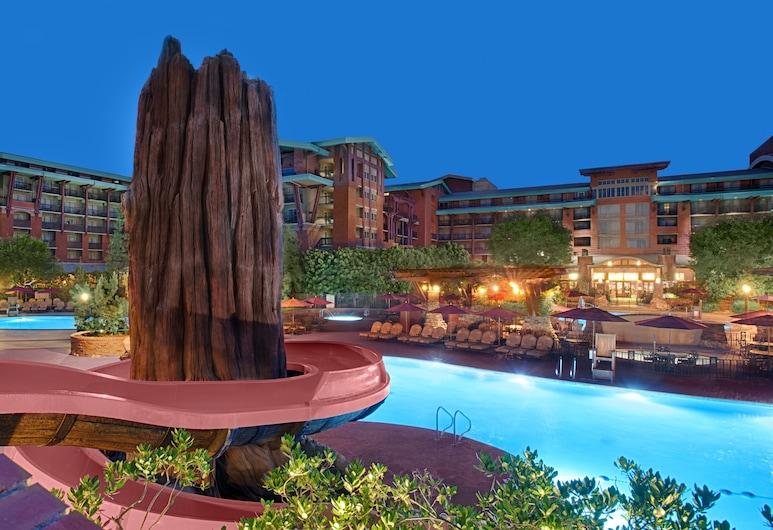 Disney's Grand Californian Hotel and Spa, Anaheim, Zjeżdżalnia wodna