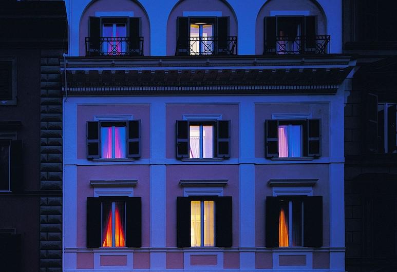 羅馬百利大酒店, 羅馬, 酒店入口 - 夜景