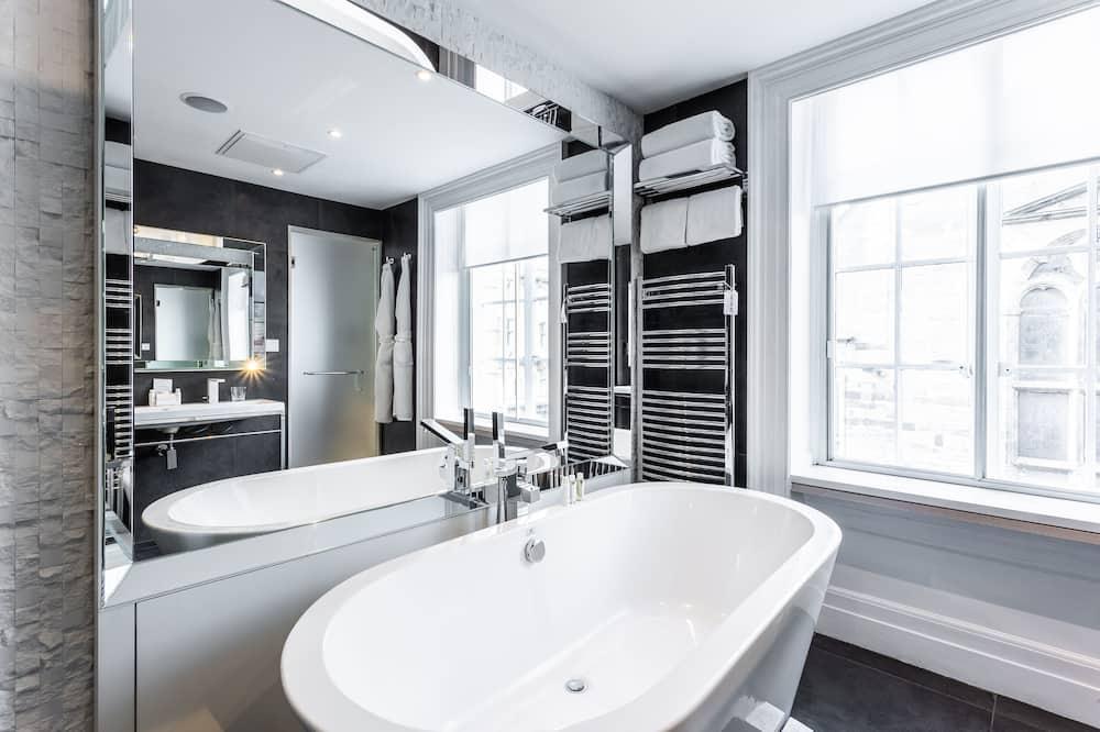 Executive-Doppelzimmer, 1 Queen-Bett - Badezimmer