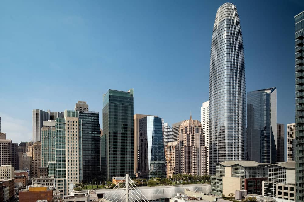 City-Zimmer, 2Queen-Betten, Nichtraucher, Stadtblick (High Floor) - Blick auf die Stadt