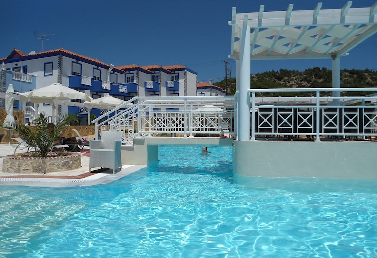 Hotel Aphrodite Beach, Lesbos, Udendørs pool