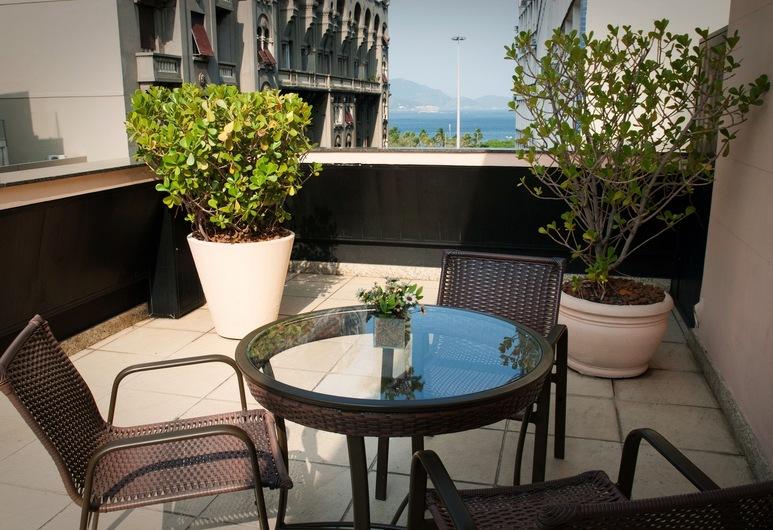 Hotel Regina, Rio de Janeiro, Terasa
