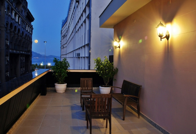 Hotel Regina, Rio de Janeiro, Terasz/udvar