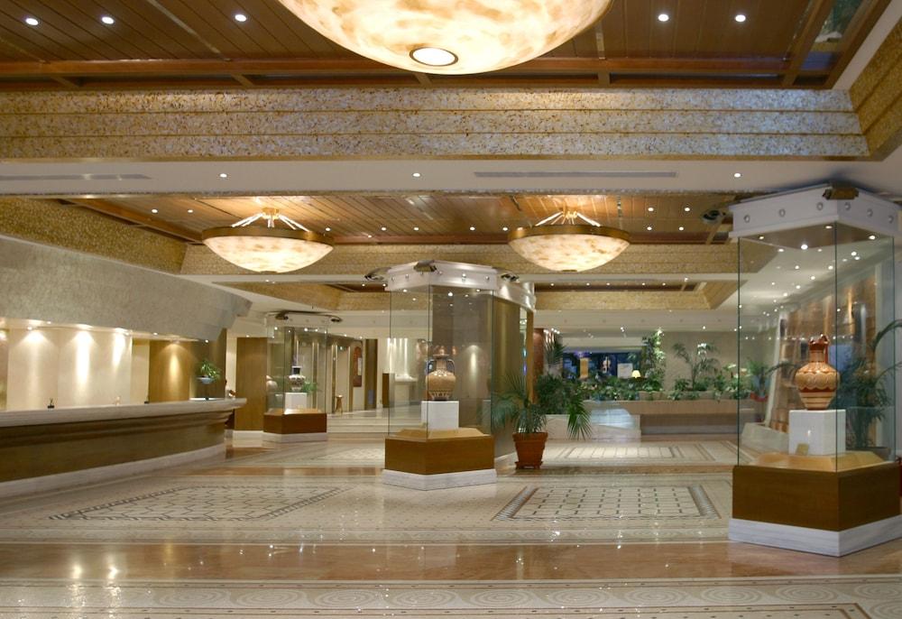 rodos palace hotel rhodes lobby