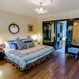 Premium suite, 1 tweepersoonsbed, uitzicht op tuin (Temptation) - Woonruimte