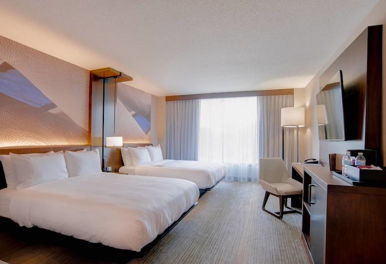 Richmond Marriott Short Pump, Glen Allen, Pokój Club, 2 łóżka queen, dla niepalących, Pokój