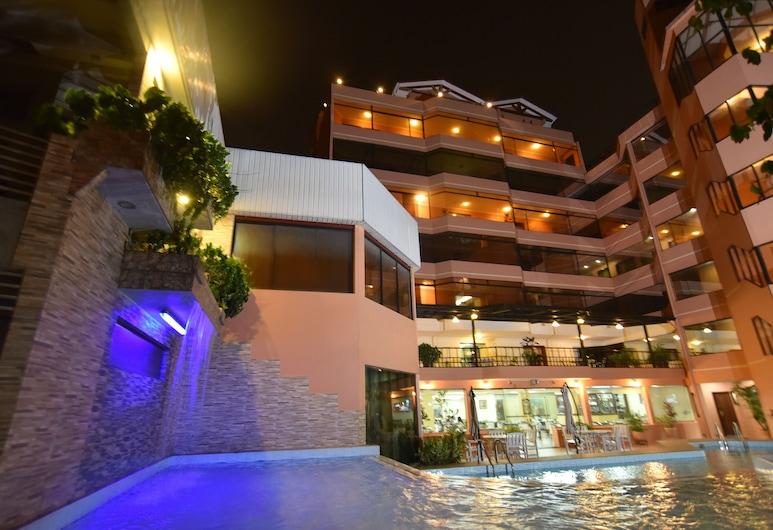 House Inn Apart Hotel, Santa Krusas, Lauko baseinas
