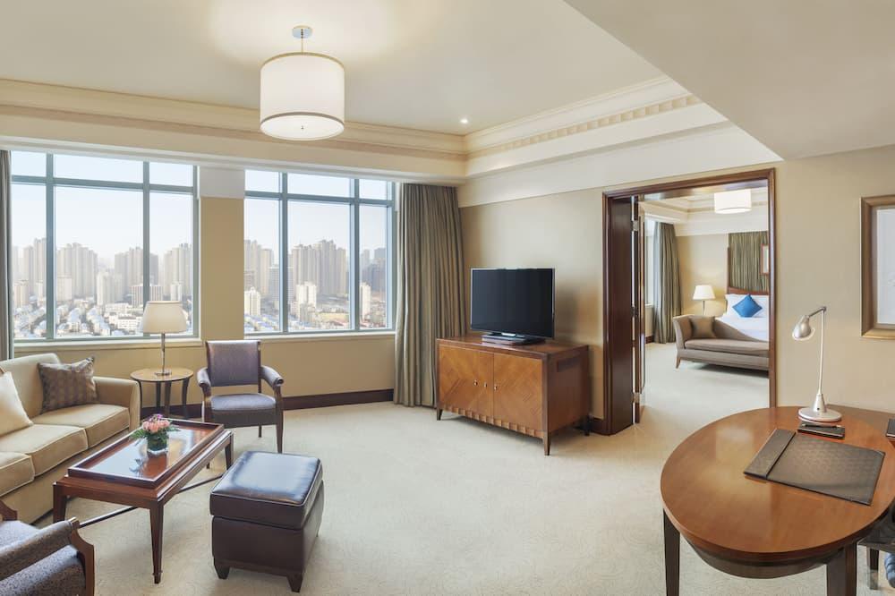 Executive-Suite, 1 Schlafzimmer, Nichtraucher - Wohnbereich