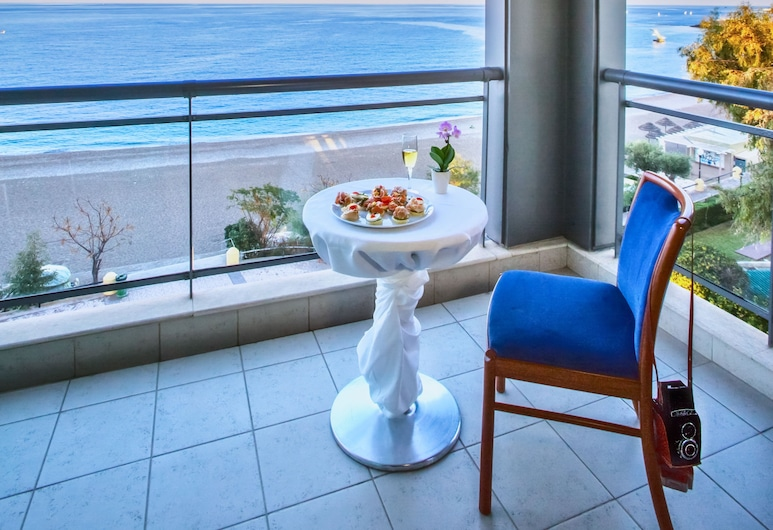 Hotel Mediterranean, Rhodes, Phòng Suite Junior, Ban công