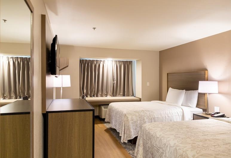 Red Roof Inn PLUS+ & Suites Savannah - I-95, Savannah, Pokój Deluxe, 2 łóżka queen, przystosowanie dla niepełnosprawnych, dla niepalących, Pokój