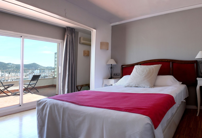Hotel Subur, Sitges, Penthouse, Vue sur la rue