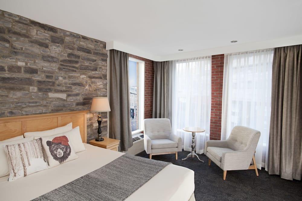 Habitación superior, 1 cama King size - Sala de estar
