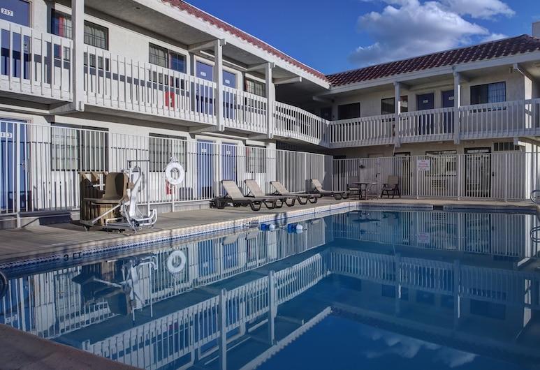 GreenTree Inn Santa Fe, Santa Fe, Standard Room, 2 Double Beds, Lobby Sitting Area