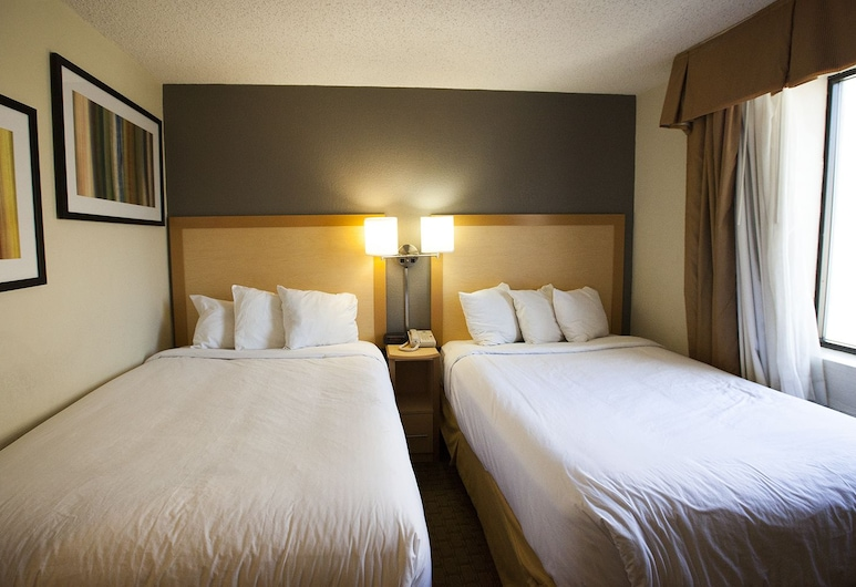 Hudson River Hotel, New York, Standard Room, 2 Double Beds, Guest Room