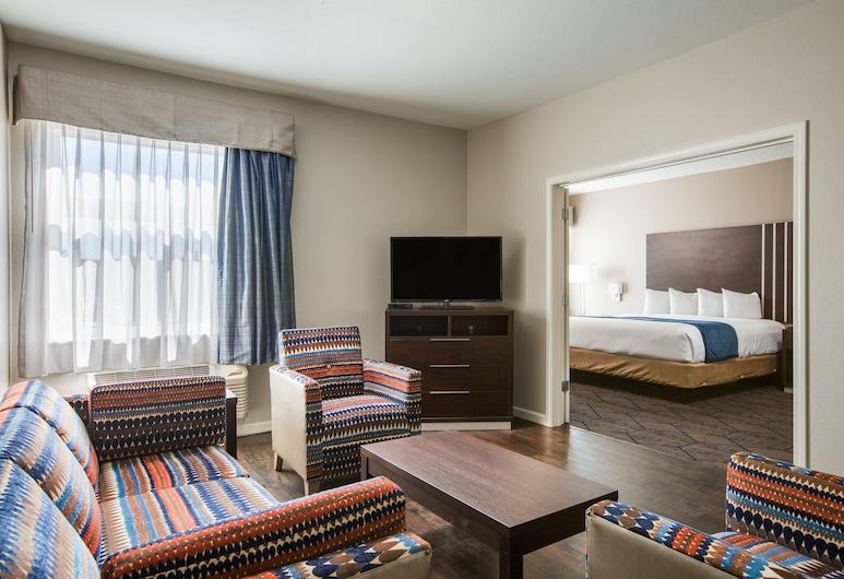 Baymont by Wyndham Albuquerque Airport, Albuquerque, Studio Suite, 1 King Bed, Non Smoking, Guest Room