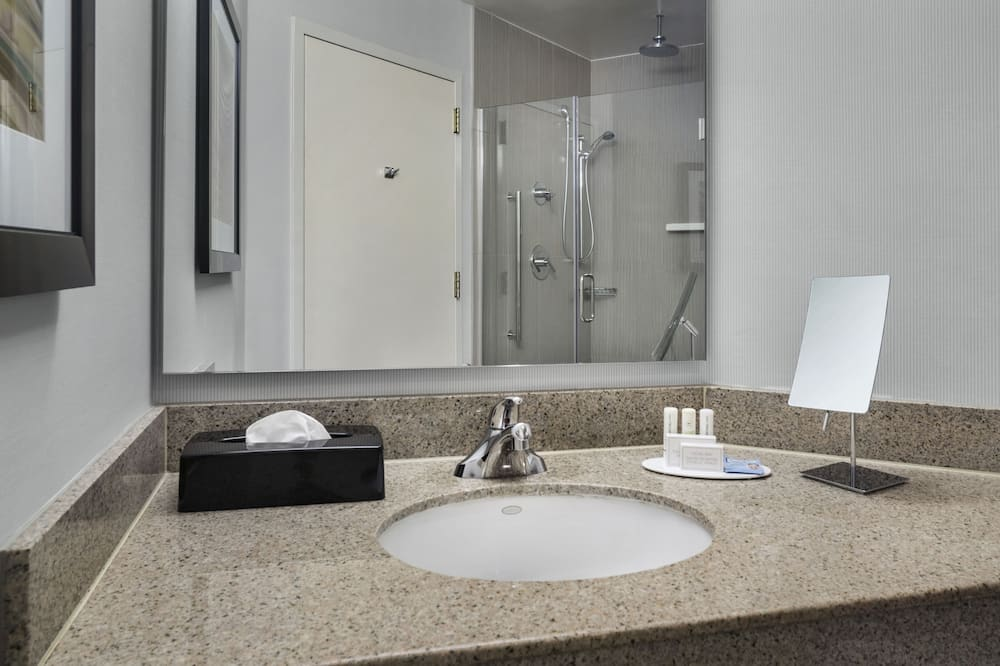 Представительский номер, 1 двуспальная кровать «Кинг-сайз», для некурящих - Ванная комната