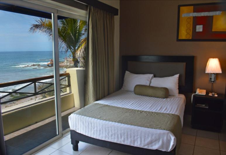 Hotel La Siesta, Mazatlán, Chambre Standard, 2 lits doubles, vue océan, Chambre