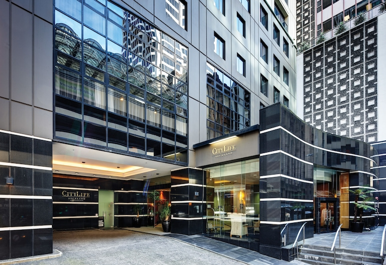 CityLife Auckland, Auckland, Hoteleingang