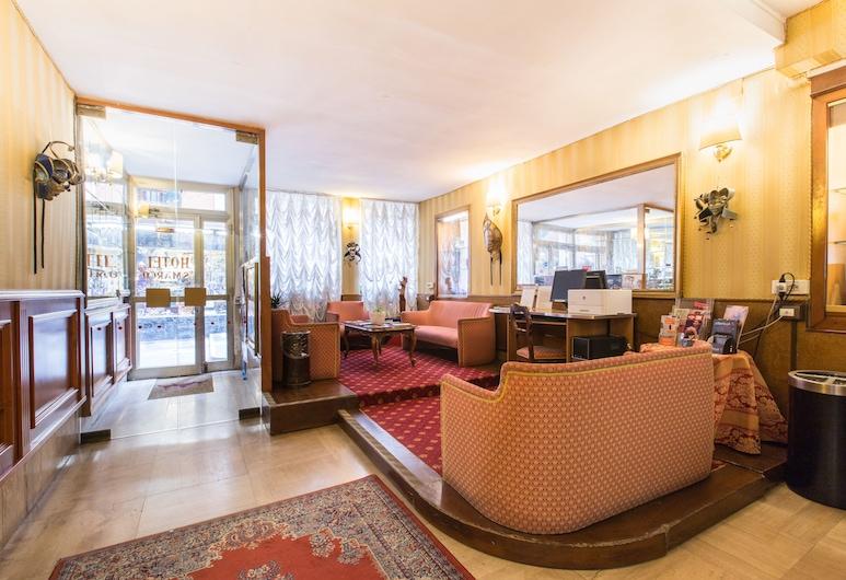 Hotel San Marco, Венеция, Лаунж в вестибюле