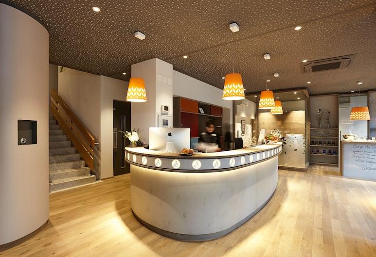 Steinenschanze Stadthotel, Basel, Reception