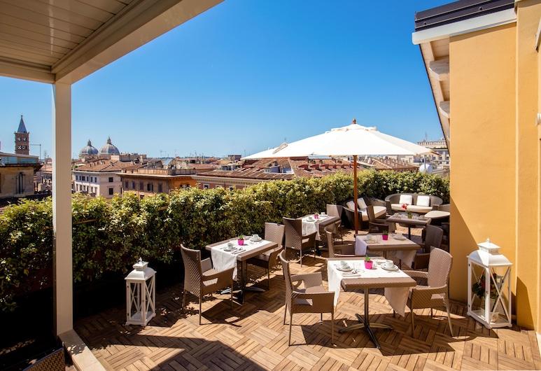 Gioberti Hotel, Rome, Terras