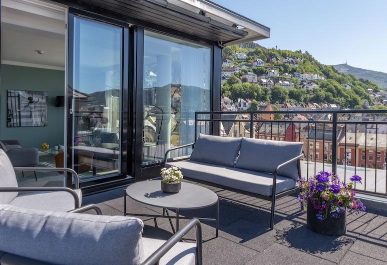 First Hotel Bergen Marin, Bergen, Svit Executive, Terrass