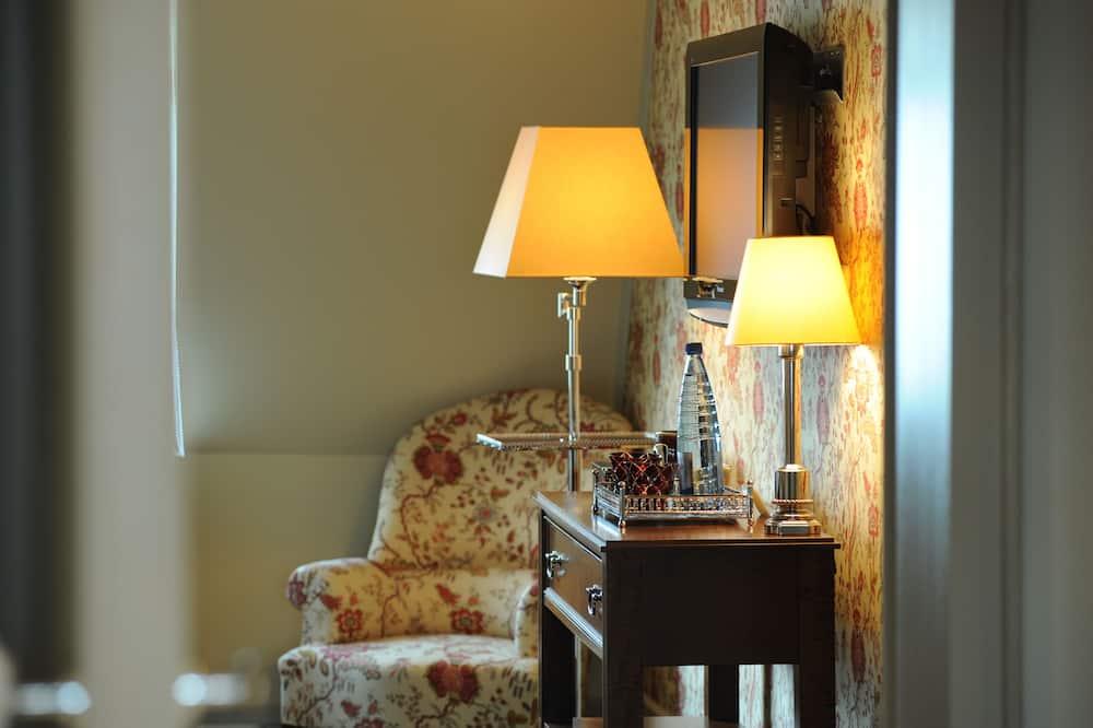 Habitación doble Deluxe de uso individual - Sala de estar