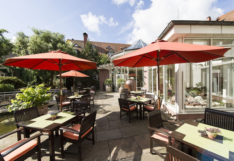 Lindner Hotel & Spa Binshof, Spira, Terraza o patio