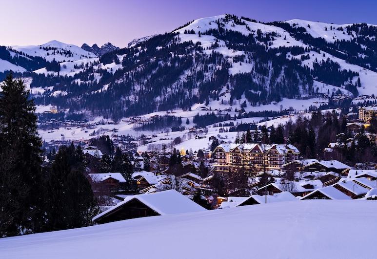 Park Gstaad, Saanen, Fasada hotelu