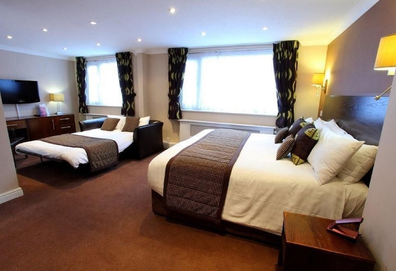 The Dolphin SA1 Hotel, Swansea, Guest Room