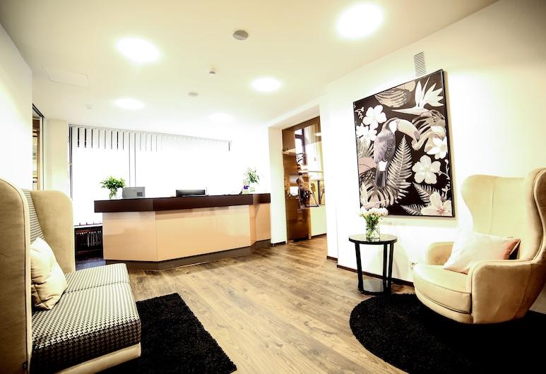 City Partner Hotel Berliner Hof, Karlsruhe, Reception