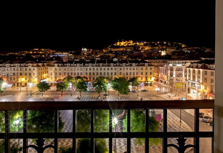 Hotel Metropole, Lisbon, Double or Twin Room (Rossio and Castle View), Guest Room View