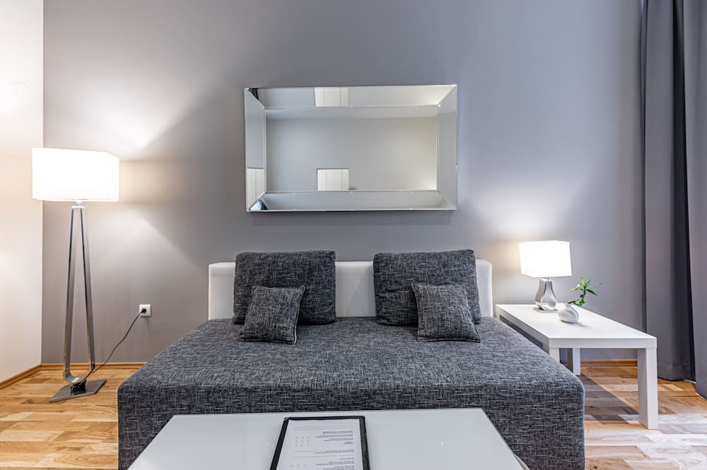 Apartamento família - Área de estar