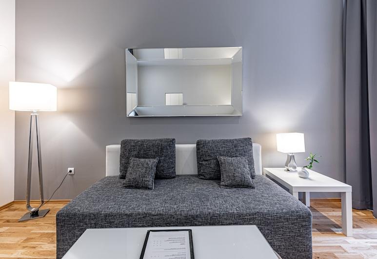 The Levante Rathaus Apartments, Viena, Apartamento família, Área de estar