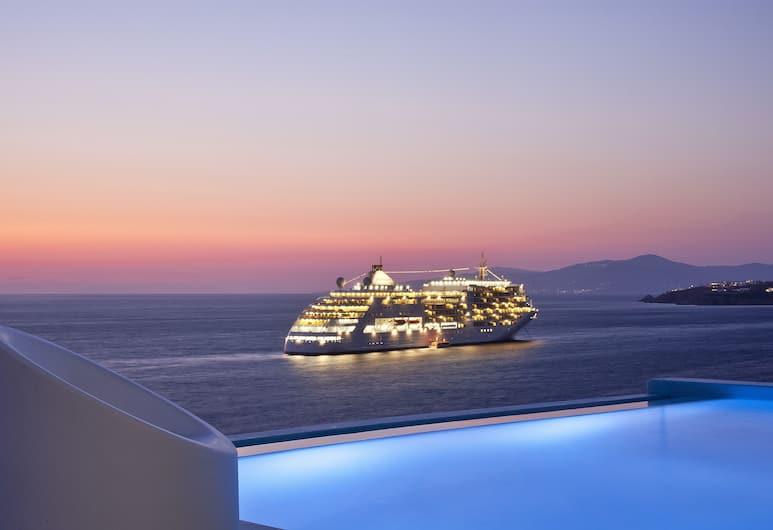 Kouros Hotel & Suites, Mykonos, Utsikt fra hotellet
