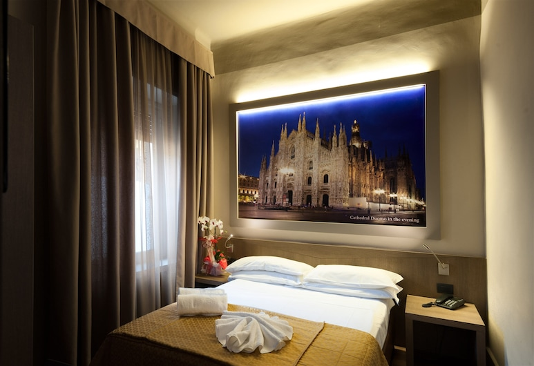 Heart Hotel Milano, Milan, Double Room Single Use, Balcony, Guest Room View