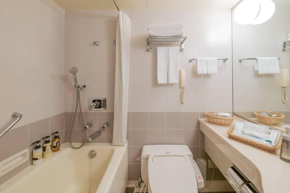 行政單人房, 1 張小型雙人床, 吸煙房 - 浴室