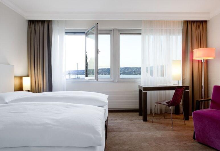 Hotel Meierhof, Horgen, Comfort-Doppel- oder -Zweibettzimmer, Zimmer
