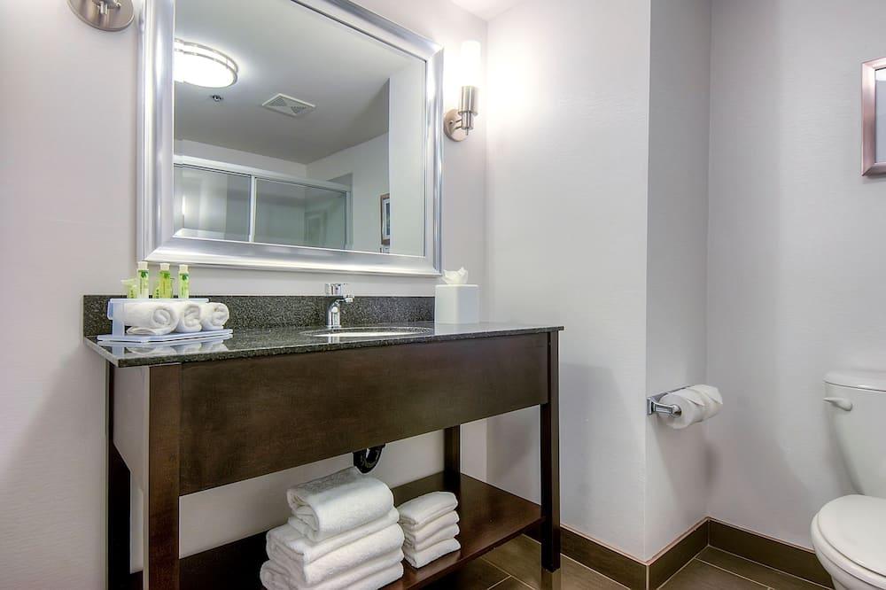 Numeris, 1 labai didelė dvigulė lova, Nerūkantiesiems, vaizdas - Vonios kambarys