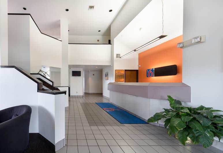 Motel 6 Dallas Northeast, Dallas, Vstupní hala