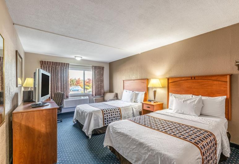 맥너슨 호텔 디트로이트 에어포트, 로물루스, 더블침대 2개, 금연, 객실