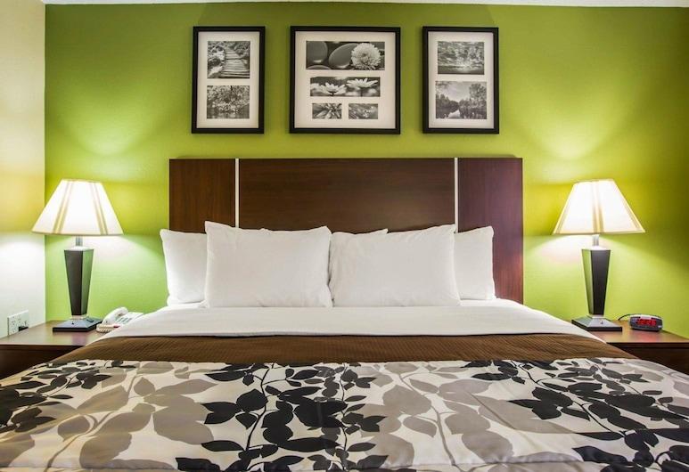 Sleep Inn Asheville - Biltmore West, Asheville, Chambre Standard, 1 très grand lit, non-fumeurs, Chambre