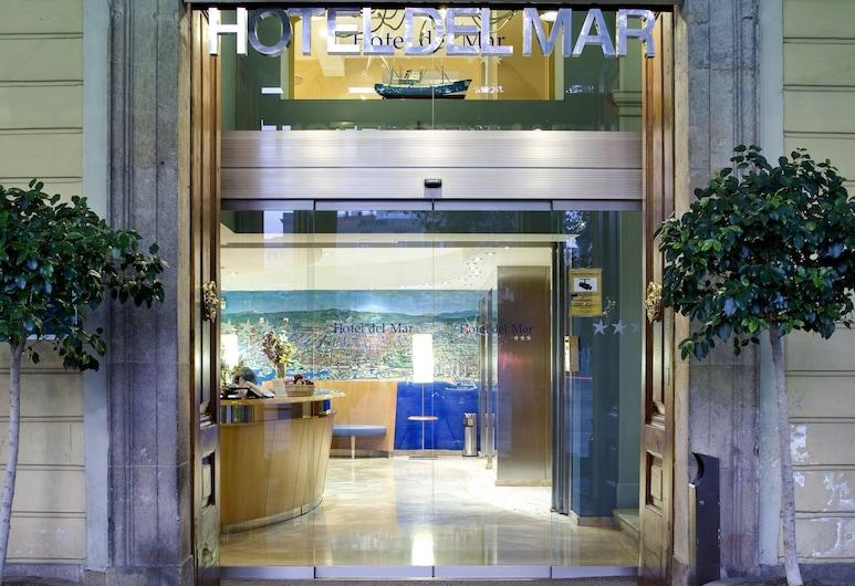 Hotel Del Mar, Barcelona, Hotel Front