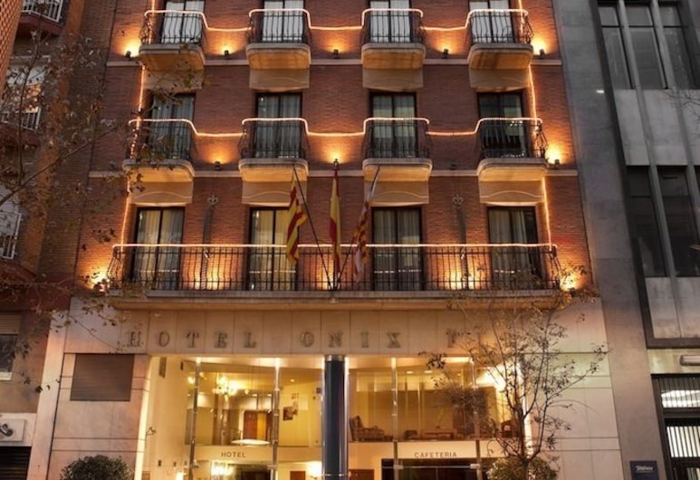 Onix Fira, Barcelone, Entrée de l'hôtel