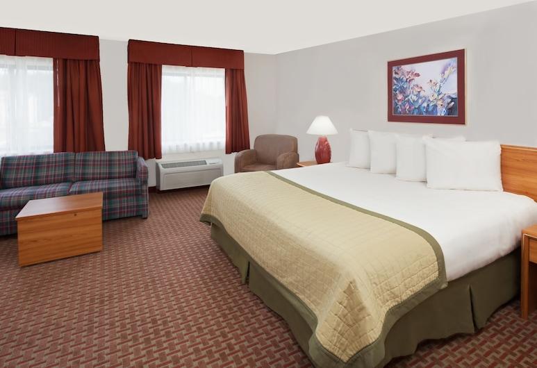 Baymont by Wyndham St. Joseph/Stevensville, Stevensville, Suite, 1 cama king-size, Quarto
