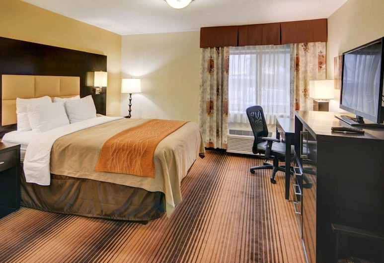 Comfort Inn Grapevine Near DFW Airport, Grapevine, Habitación estándar, 1 cama de matrimonio, accesible para personas con discapacidad, no fumadores, Habitación